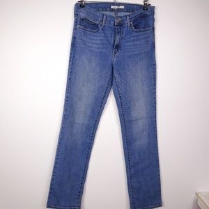 Levi's Women's Slimming Straight Jeans High Rise